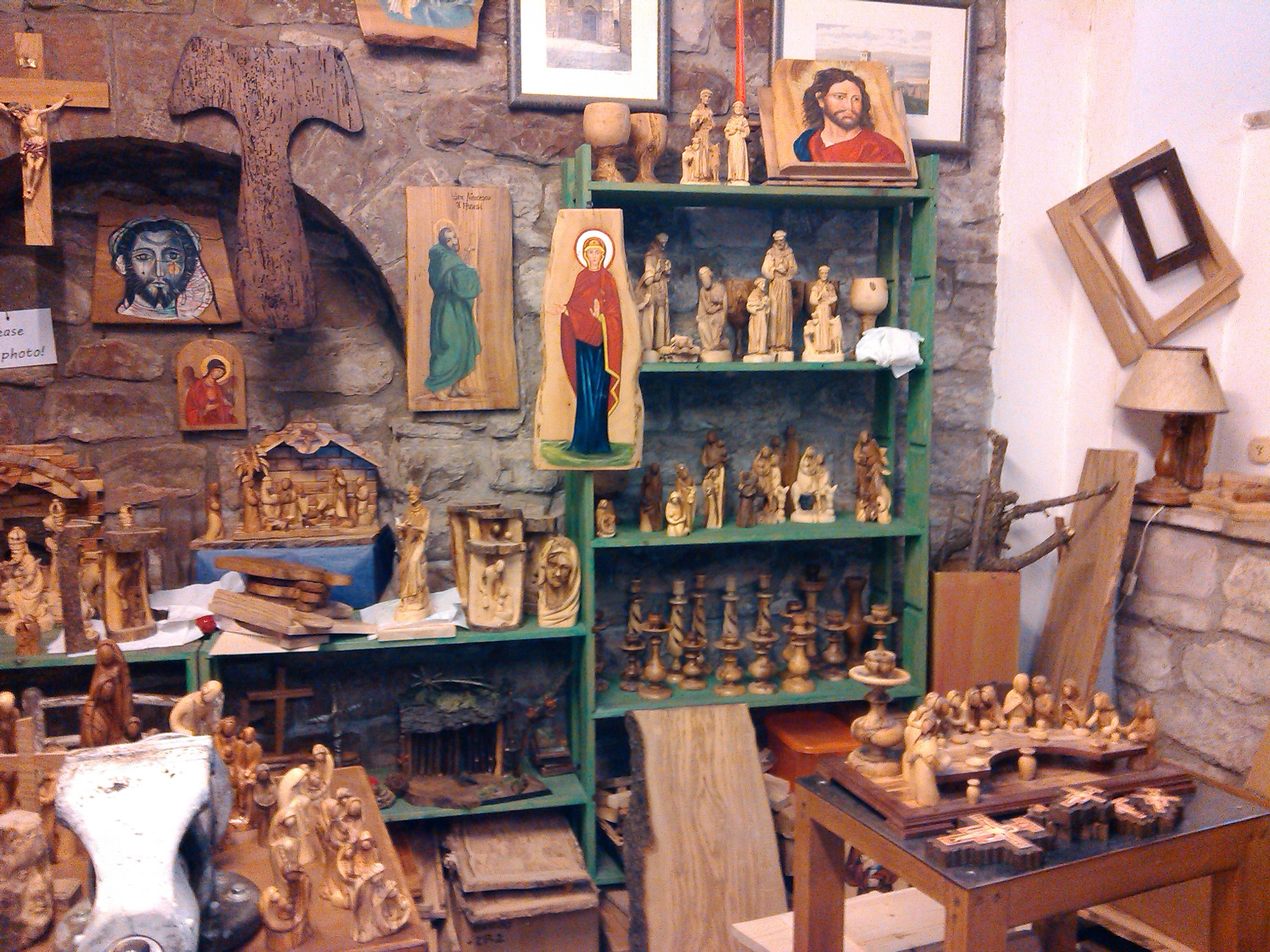 Assisi Olive Wood